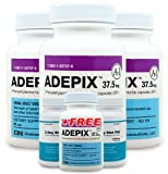 Adepix 3 Pack and 1 Free Adepix and 2 Free 3 DDP - Natural Weight Loss Pills - Safe Weight Loss Pills - The Best Appetite Suppressant for Weight Loss Reviews