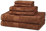 AmazonBasics Fade-Resistant Cotton 6-…