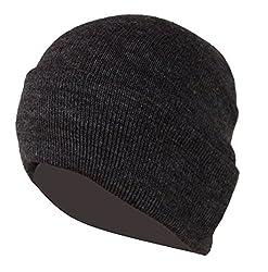 Woolen Skull Cap - Brown