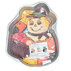 Wilton Cake Ideas For Thanksgiving : Amazon.com: Wilton Scarecrow Fall Autumn Thanksgiving ...