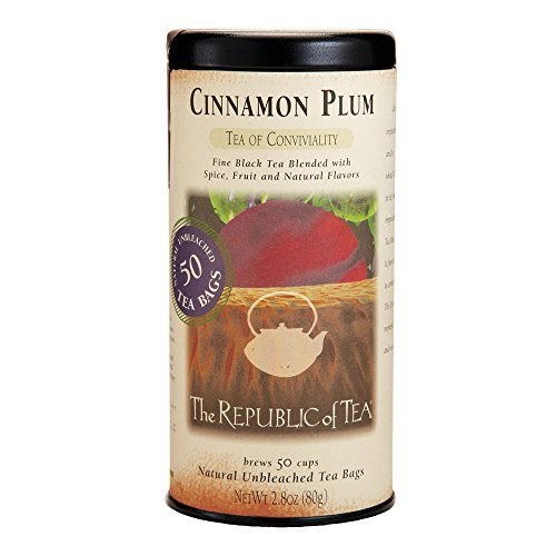 Republic Of Tea Cinnamon Plum Black Tea (50 Tea Bags)