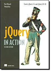 Book cover for jQuery in Action, Second Edition