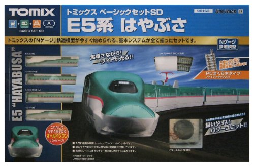 TOMIX Nゲージ 90163 ベーシックセットSD E5系はやぶさ