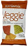 RW Garcia Organic Corn Tortilla Veg Chips 200 g (Pack of 3)