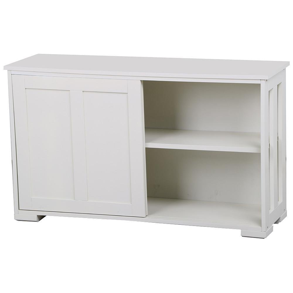 Buffet Storage Cabinet with Sliding Door Kitchen Dining Room Furniture