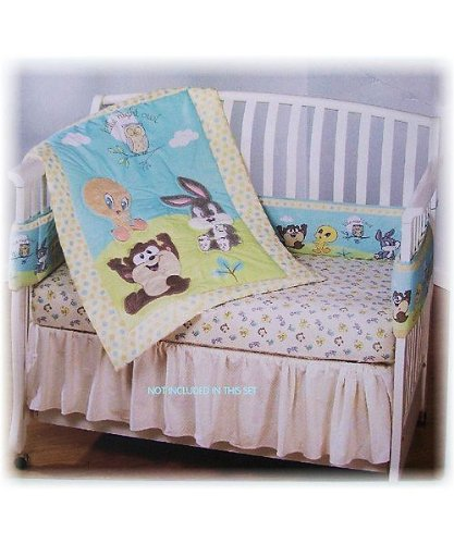 Looney Tunes-Babyking Looney Toons 3 Pc. Bedding