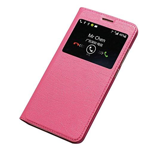 KaiTelin Huawei Nova Plus Custodia Pelle Shield Custodia Smart Cover Case per Huawei Nova Plus - Rose