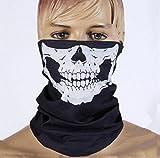 E-tech® Black Seamless Skull Face Tu...
