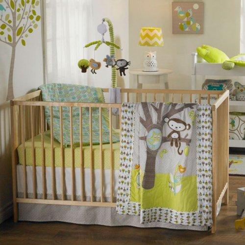 Lolli Living 4-Piece Crib Set (Animal Tree)