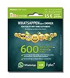 WhatsApp SIM - Prepaid Karte passend für jedes Handy