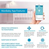 Baby Monitor for Breathing and Movement (Blue)