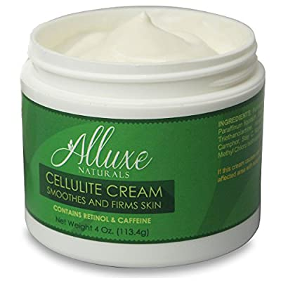 Cellulite Cream with Caffeine and 4% Retinol - Body Firming Cream Treatment to Reduce and Control Cellulite