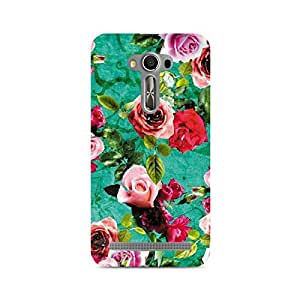 Mobicture Flower Print Premium Printed Case For Asus Zenfone 2 Laser ZE500