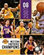 Los Angeles Lakers 2008 NBA West Champs 8x10 Photo