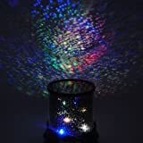 Romantic LED Night Sky Projector Lamp Kids Xmas Gift Star Light Cosmos Master