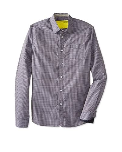 Descendant of Thieves Men's Two Tone Gingham Shirt