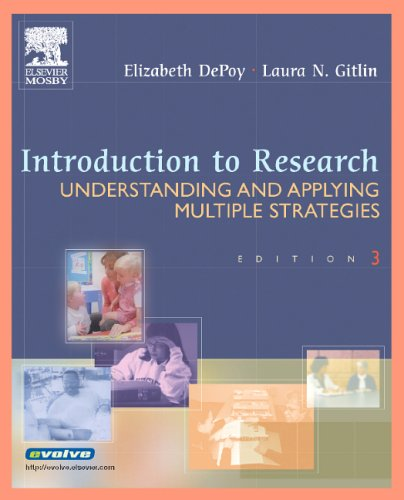 Introduction to Research Understanding and Applying Multiple Strategies Depoy Introduction to Research