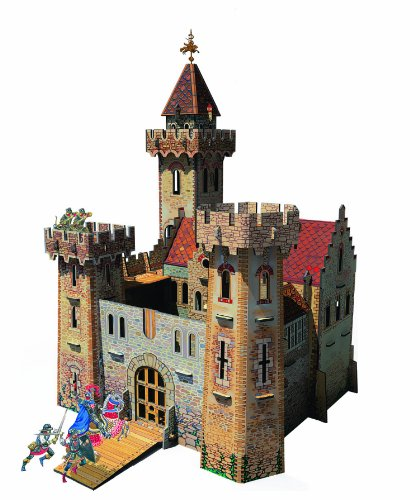Clever Paper Knight's Castle with Figures (Castle Paper Model compare prices)