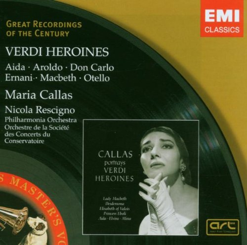 Verdi -  Opera Arias - CD