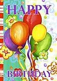 Toland Home Garden  Birthday Bash 28 x 40-Inch Decorative USA-Produced House Flag