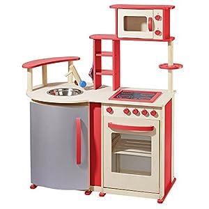 howa moderna cucina giocattolo in legno 48132