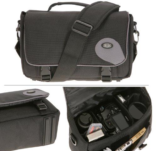 Bilora-287-90-Standard-Promo-Fototasche-passend-fr-Canon-EOS-500D-450D-400D-1000D-Nikon-D40-D60-D80-Panasonic-FZ28-FZ38