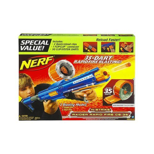 Nerf Raider Rapid Fire CS-35 Special Value (35 Round Nerf compare prices)