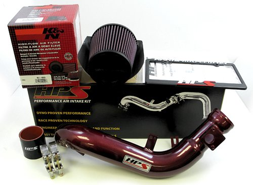 RED FIT 2008 2009 2010 SCION xD 1.8 1.8L HEATSHIELD COLD AIR INTAKE KIT SYSTEMS