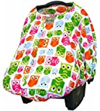 Itzy Ritzy Peek-A-Boo Pod Infant Carrier Pod, Hoot (Discontinued by Manufacturer)