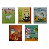 Bedtime Book Collection - 5 Childrens Story Books inc. Lamb says Boo, Lucky Bamboo, Dazzle Duckling, Little Mouse, Titch the Tiddler