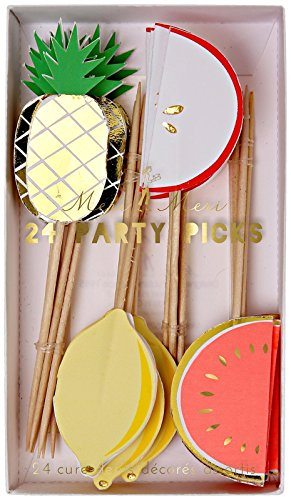 Meri Meri 45-2042 Fruit Party Picks Novelty (Fruit Party compare prices)