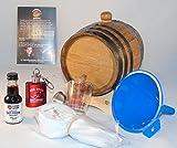 1 Liter White American Oak Kentucky Bourbon Kit Gift Set