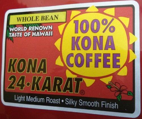 Lion 100% Pure Kona Coffee 24 Oz. Whole Bean