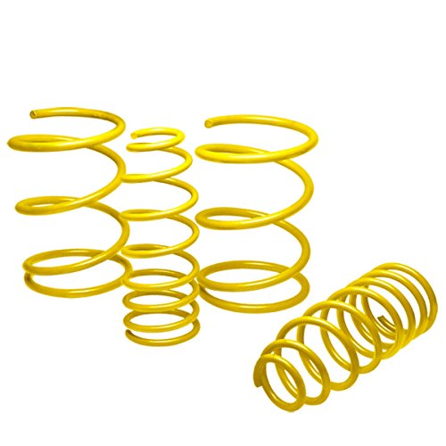 Toyota Celica Suspension Lowering Spring (Yellow) - ZZT230 (2001 Toyota Celica Rear Spring compare prices)