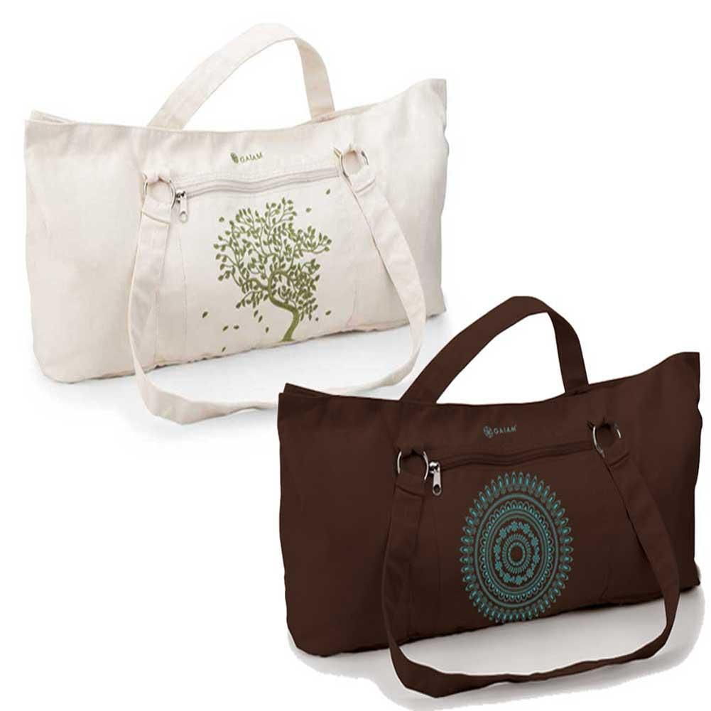 Amazon.com : Gaiam Marrakesh Embroidered Yoga Mat Tote Bag