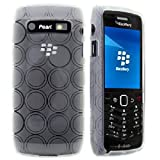 CellBig Clear Circle Gel Case Cover Pouch Mask Pocket Wallet Shell For Your Blackberry Pearl 9100 9105 3G