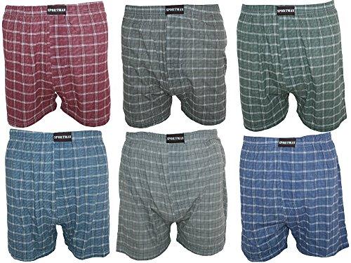 3Pack Boxer da uomo Boxer maglia, in 100% cotone taglie 5-13 multicolore XXXXXXXL