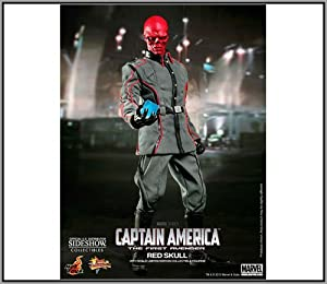 """Hot Toys Captain America Movie 1/6 Scale - The First Avenger Red Skull 12"""" Figure"""