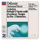 Debussy : Oeuvres pour orchestre: Pr�lude � l'apr�s-midi d'un faune - La Mer - Images pour orchestre - Berceuse h�ro�que - Jeux - Danses...