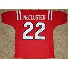 Buy Autographed Dexter McCluster Jersey - MISSISSIPPI #22 COA - Autographed College Jerseys by Sports Memorabilia