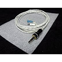 Sun Cable Basic Sennheiser White Replace upgrade Cable / for IE8, IE80