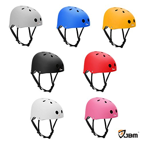 JBM-Adult-Skateboard-Helmet-Impact-resistance-Ventilation-for-Multi-sports-Cycling-Skateboarding-Scooter-Roller-Skate-Inline-Skating-Rollerblading-Longboard-Two-Wheel-Electric-Board-Bike