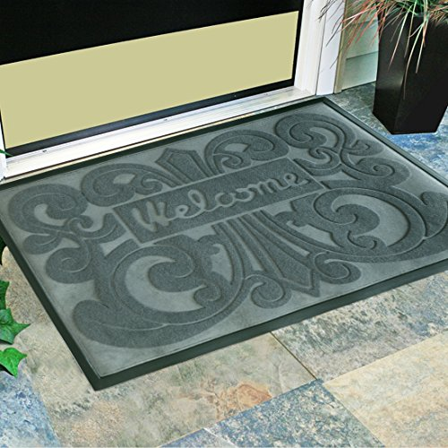 Amagebeli Home 24 Quot X 35 Quot Vine Decorated Welcome Doormat