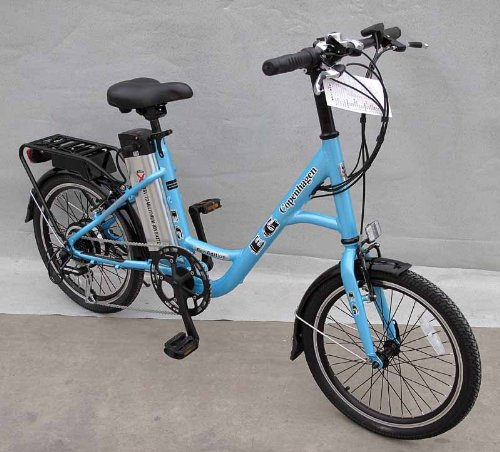 EG Copenhagen Electric Bicycle Blue
