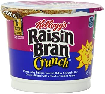 Raisin Bran Crunch Cereal Cup