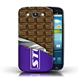 IChoose® Designer Chocolate Bar Cases for Samsung Galaxy S3 SIII / Protective Hard Back Case Cover / Mars, Galaxy, Flake & Others Collection / Wrapped Block/Slab