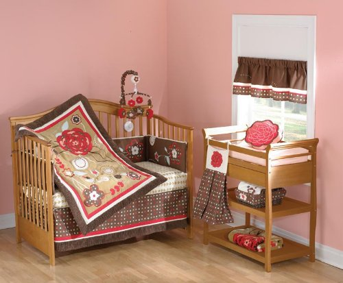 Sarafina 5 Piece Baby Crib Bedding Set by Beansprout