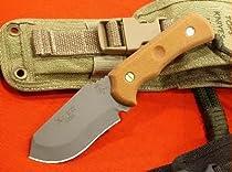 Tops Knives XcEST Alpha w/Coyote Tan Sheath TKXCEST-A-CT