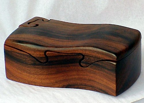 Bolivian Rose Wood Puzzle Box