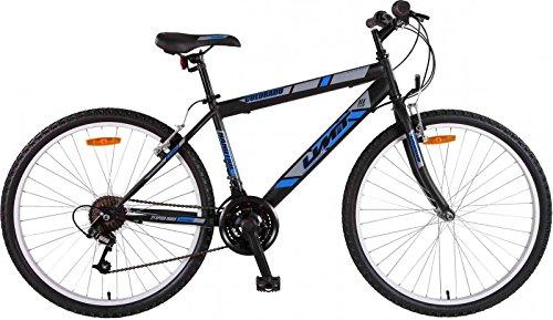 26' Zoll Mountainbike Hardtail für Jugendliche und Herren, Farben:blau